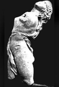 Bacchante sculpture Dresde